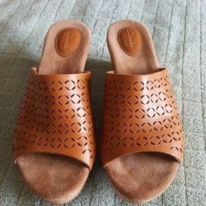 Clarks Artisan Platforms, Wedge, Slip Ons, Sandals